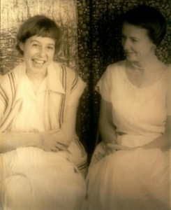 Carson McCullers and Mary Mercer