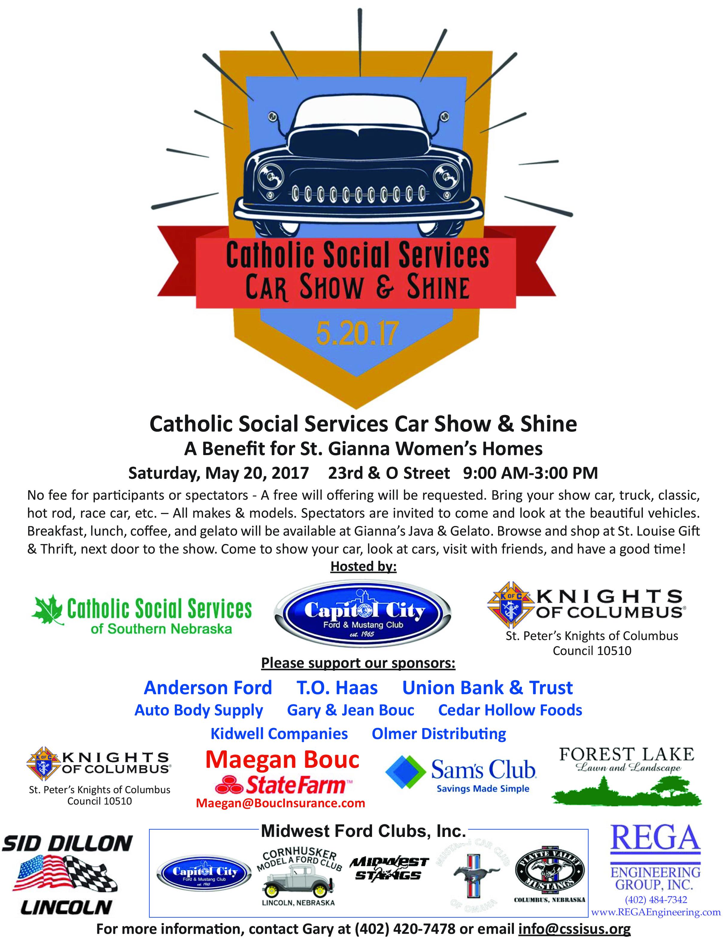 Catholic Social Services Car Show & Shine
