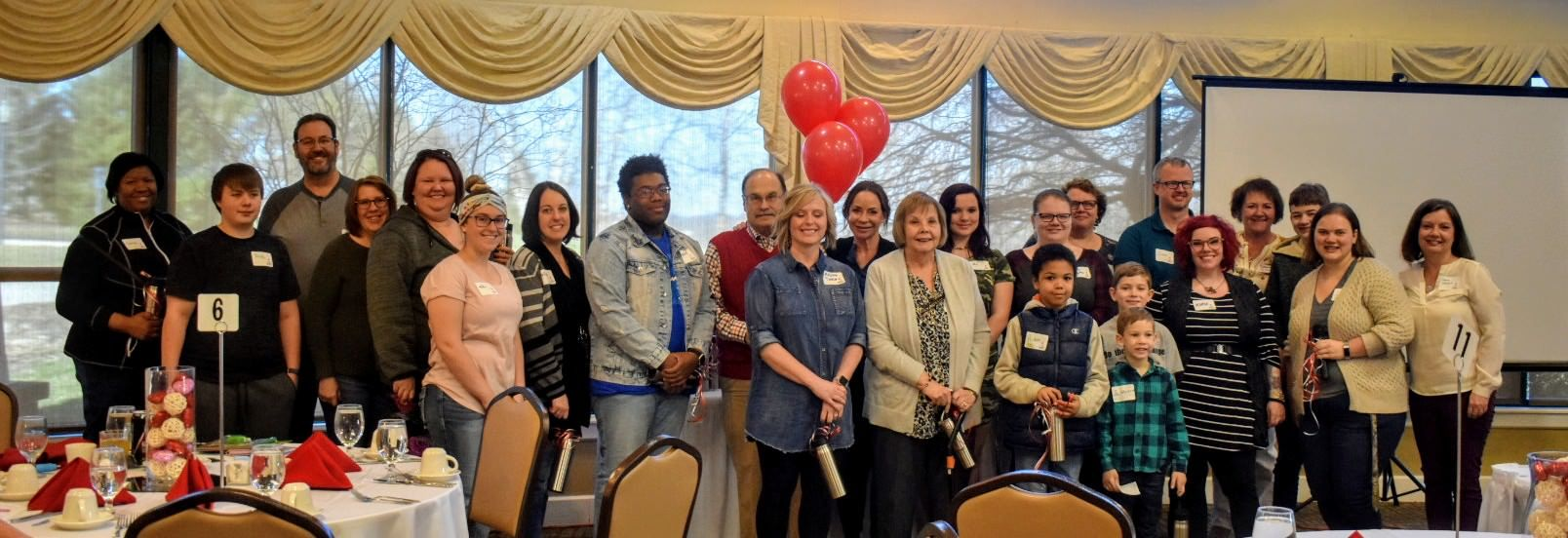 We appreciate our volunteers who attended our Appreciation Breakfast in March!