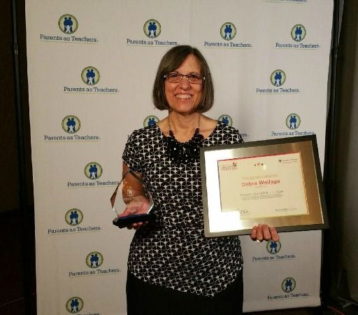 Parents As Teachers Honors Deb Weilage at International Conference