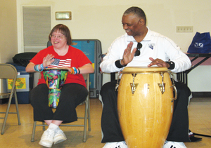 Ex-Talking Heads Percussionist Finds New Calling, Drumming With Intellectually Disabled