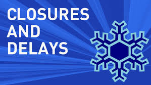 Delays and Closures Information