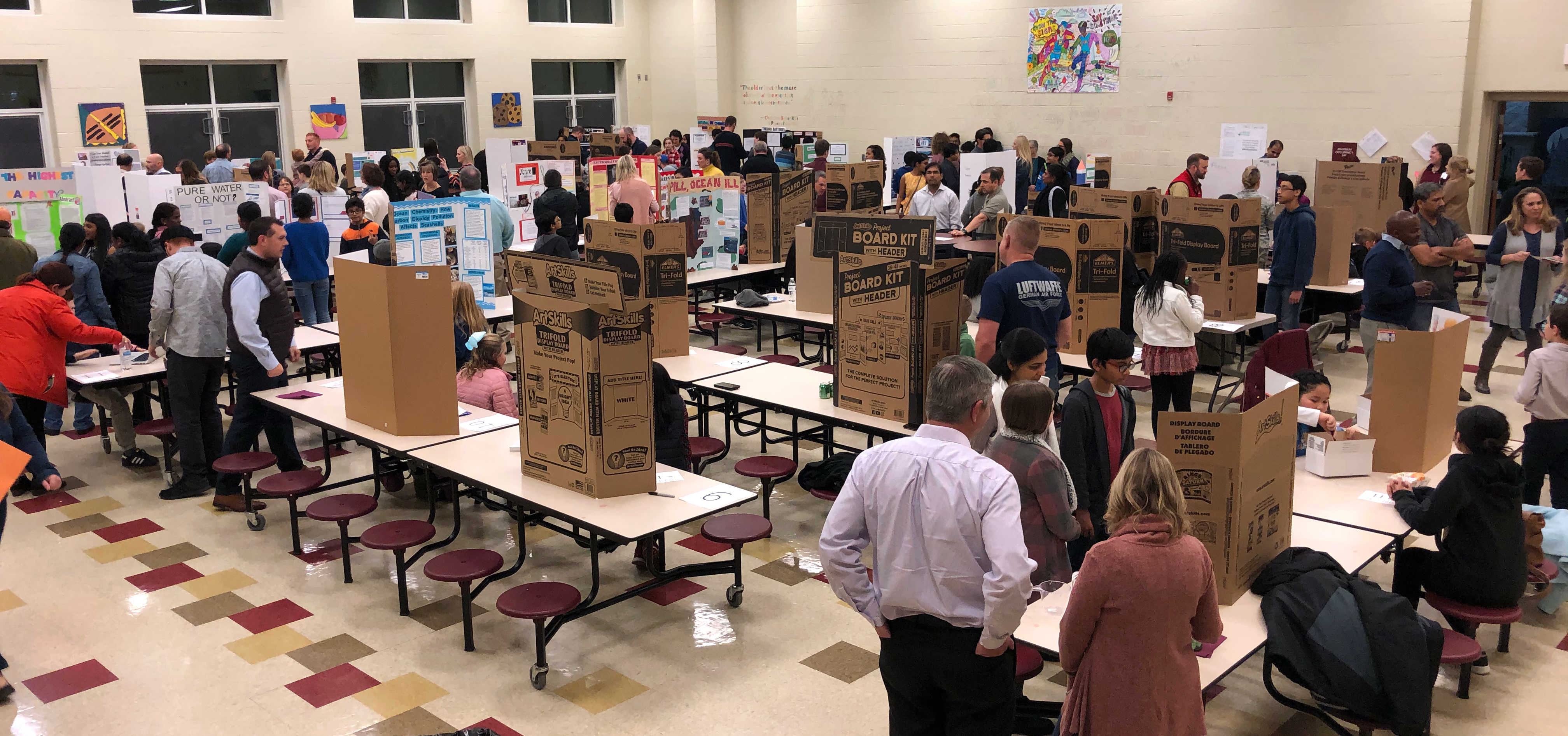 CCS District Science Fair Showcase