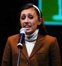 Ashley Draper, Honorable Mention, Recitation