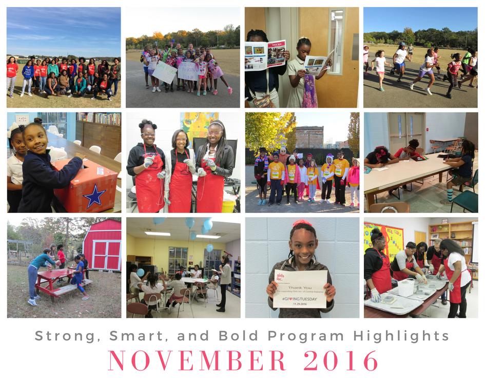November 2016 Overview