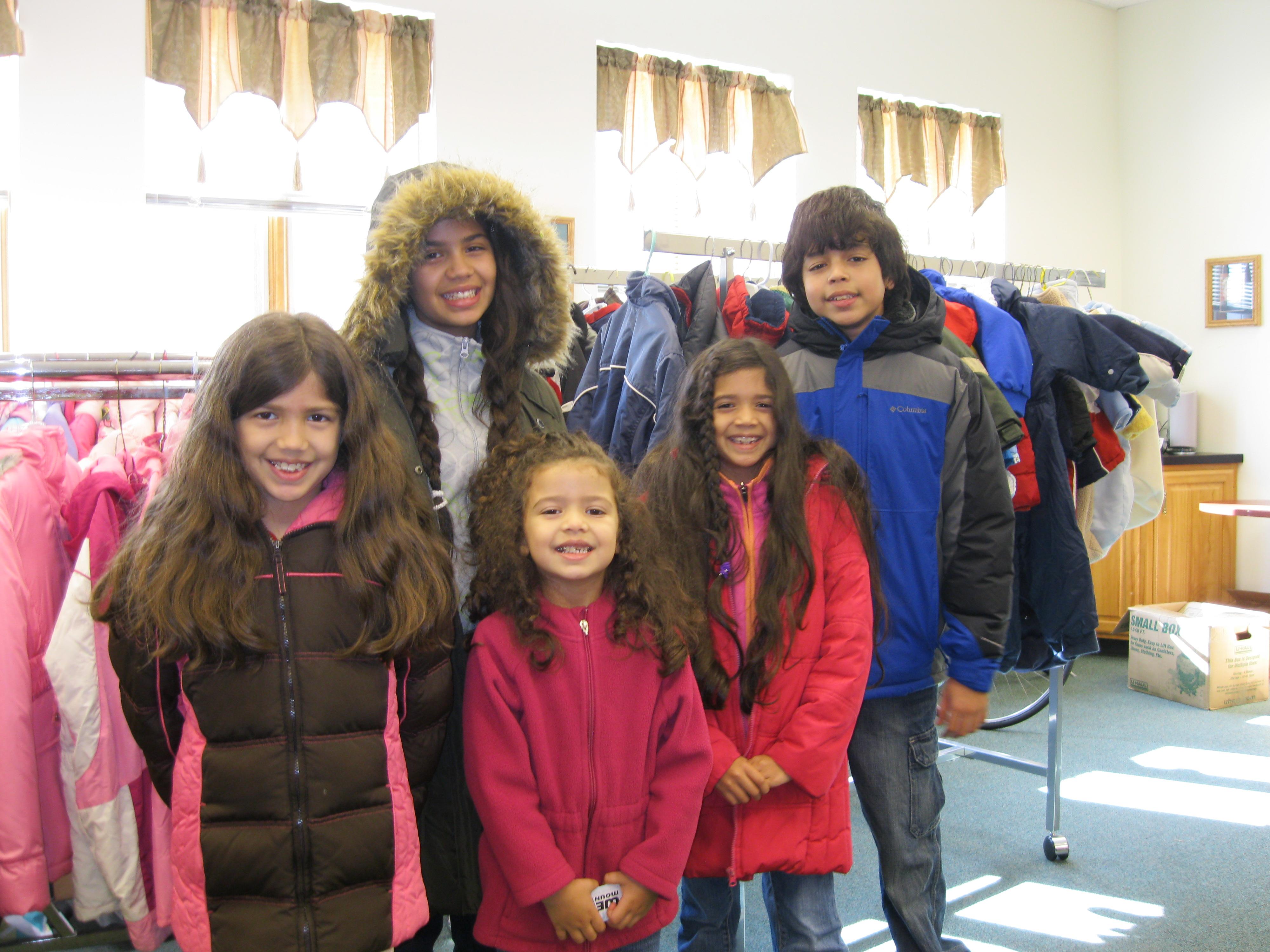 Winter Coats & Boots Drive