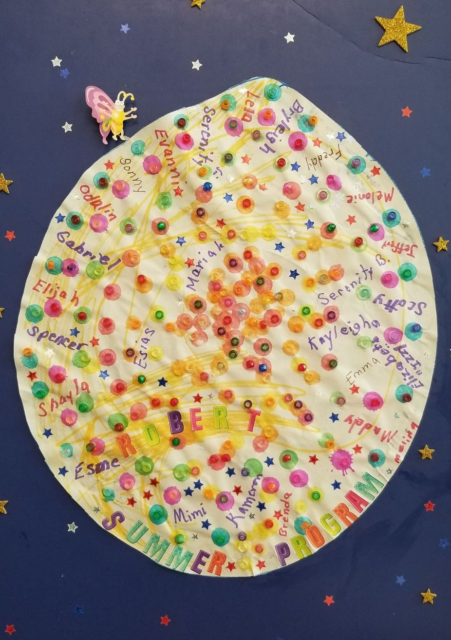 Summer Program Art! AWESOME kids!
