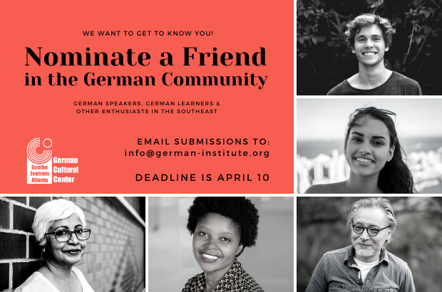 Nominate a Friend in the German Community