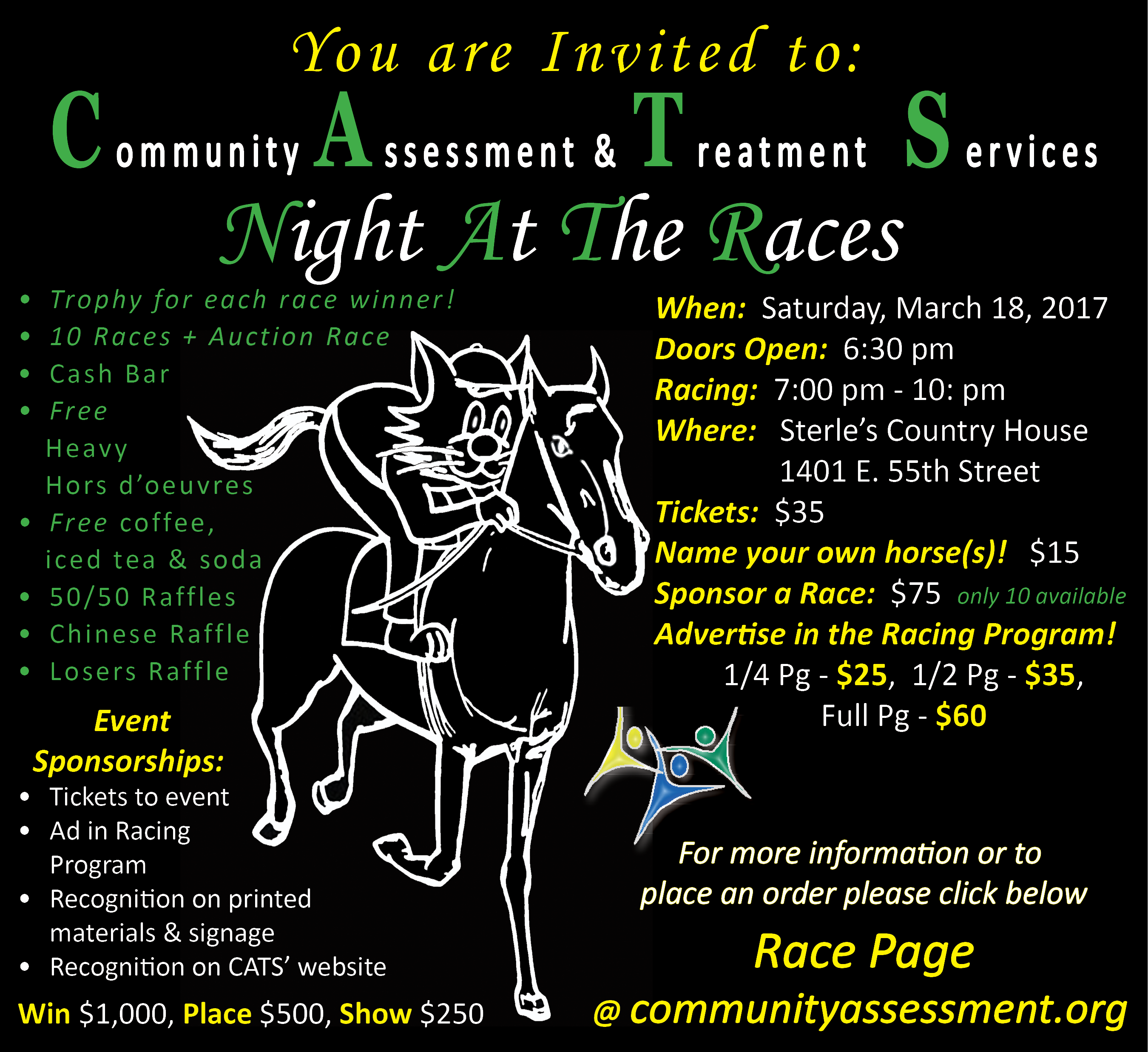 CATS' Night at the Races