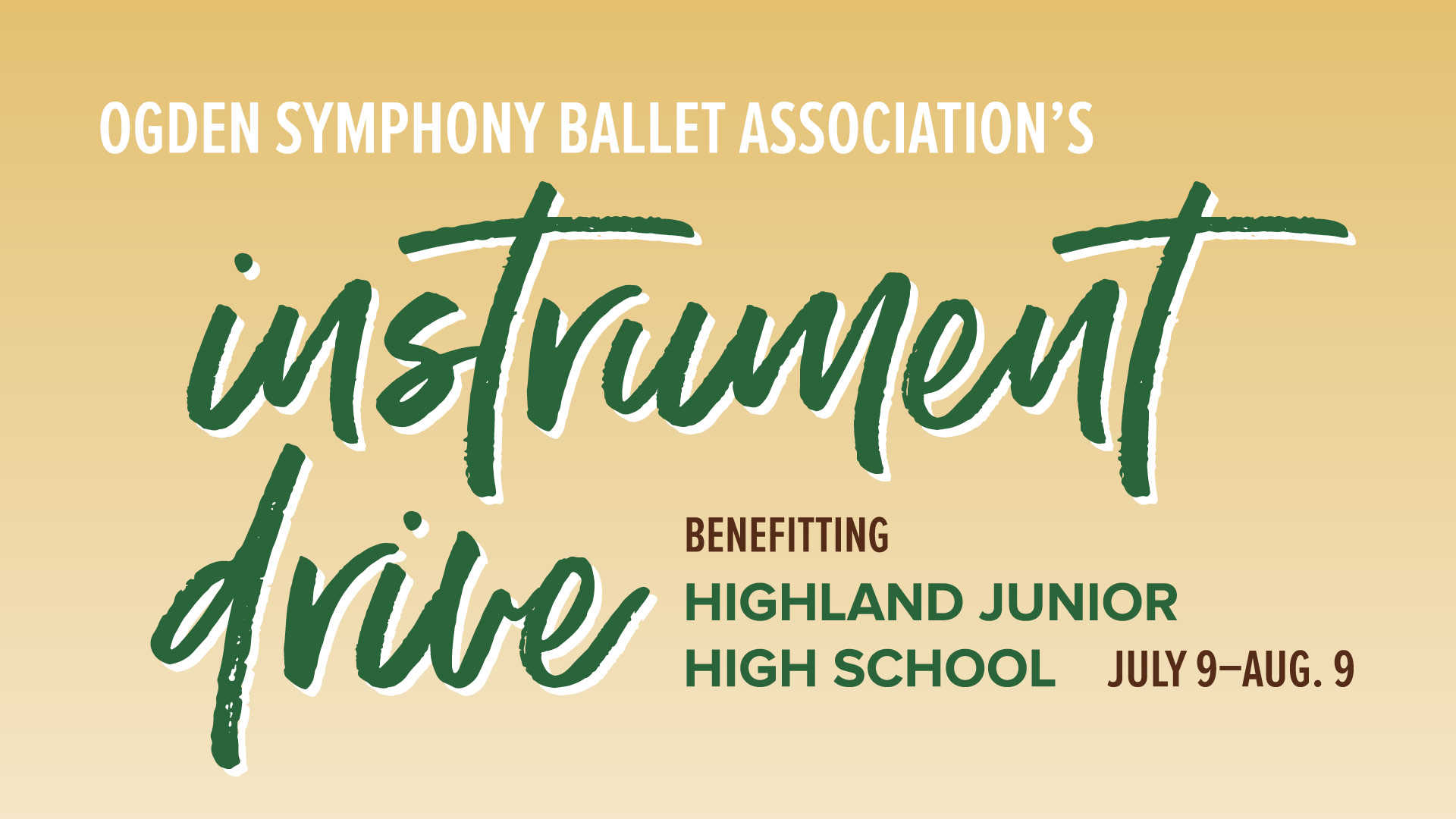 OSBA's Used Instrument Drive