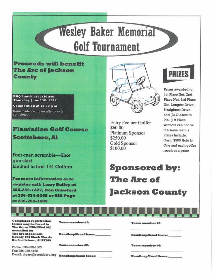 Wesley Baker Memorial Golf Tournament