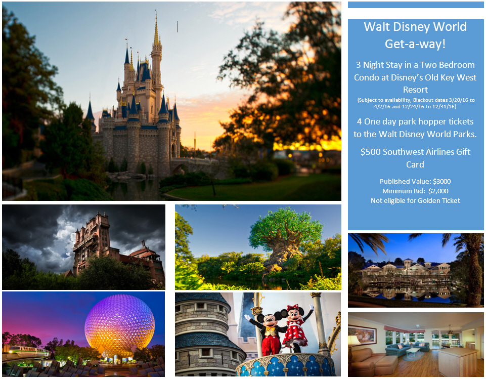 Walt Disney World Get-a-way!