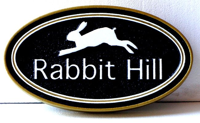M22918 - Rabbit Property Name Sign