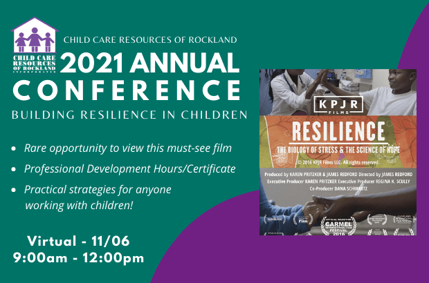 Annual Conference: Building Resilience in Children