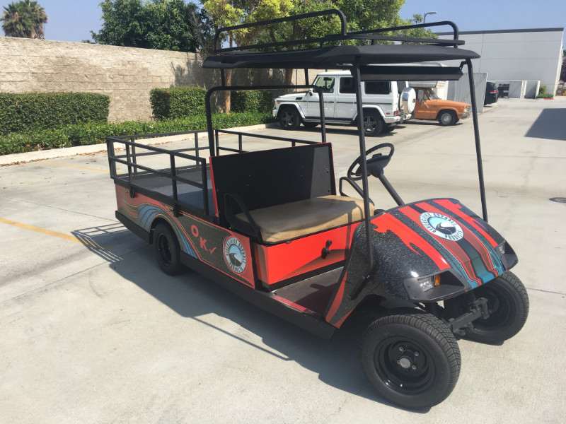 Golf Cart Vinyl Wraps in Orange County CA