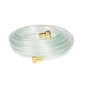A01HC120 Clear Hose 25' Connect to Leak Diverter