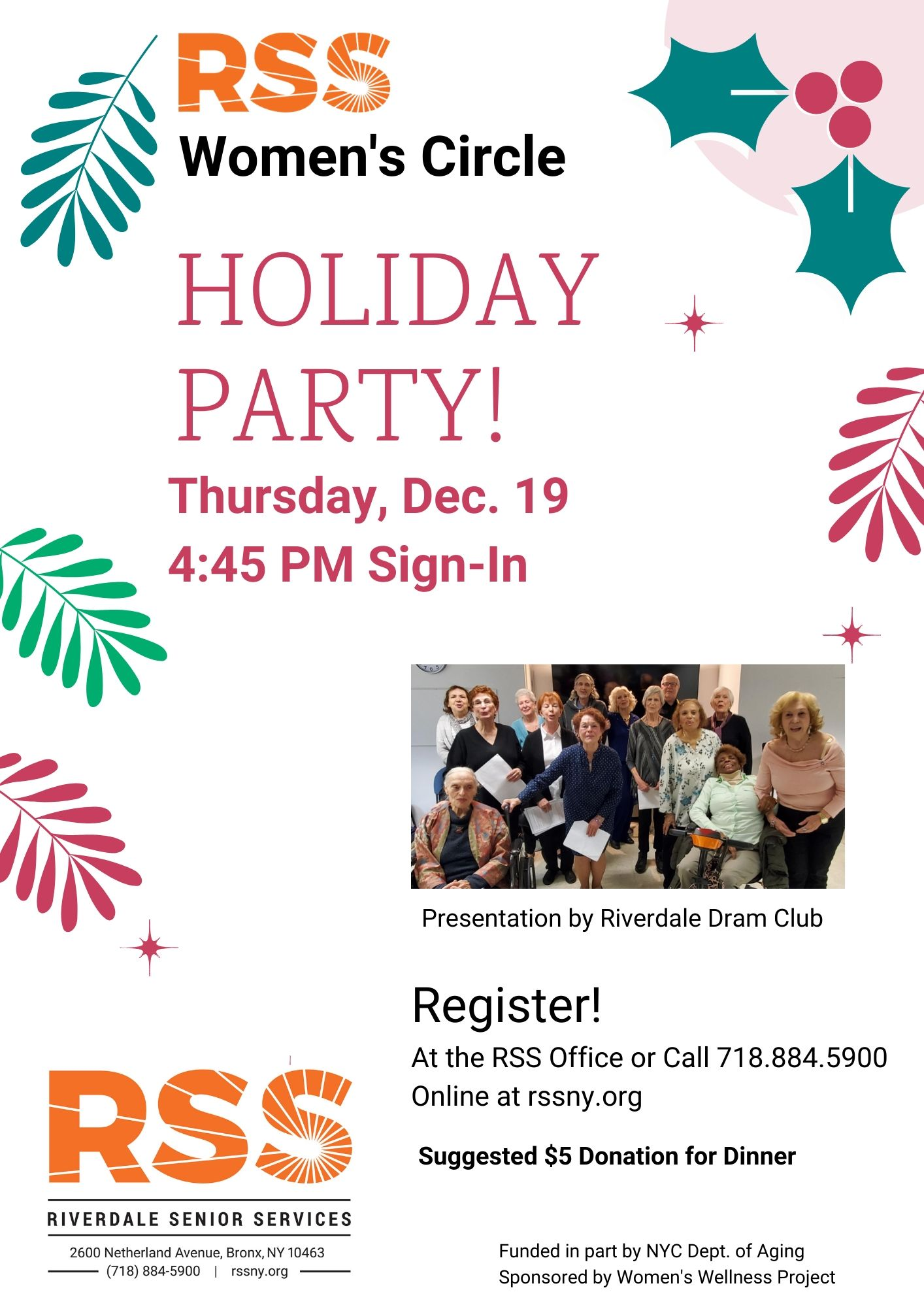 Women's Circle Holiday Party