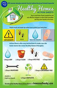 Healthy Homes Action Sheets Card