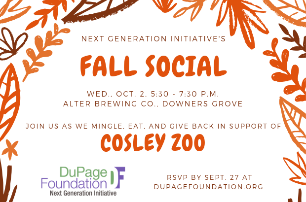 NGI Fall Social to Benefit Cosley Zoo