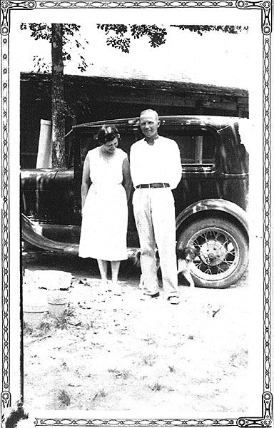 Edith and Jesse Moore
