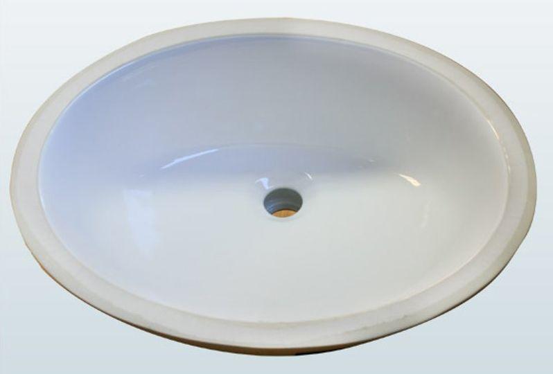 Round Porcelain Sink