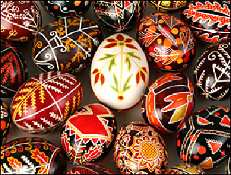 Pysanky: Ukrainian Egg Decorating