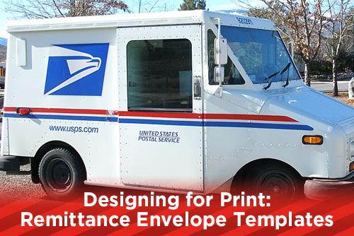Designing for Print: Remittance Envelopes