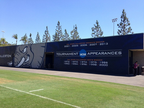 Announce school pride with wall wraps in Orange County