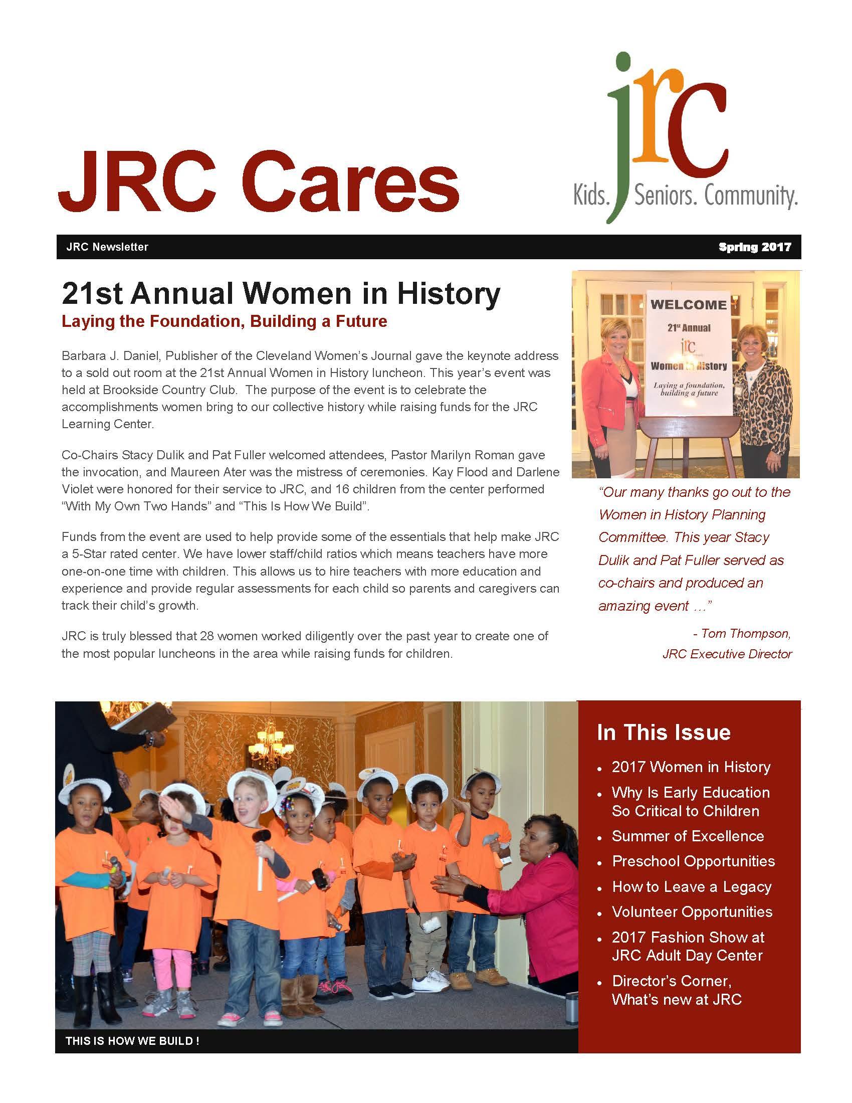 JRC : Newsletter & Events : Newsletters