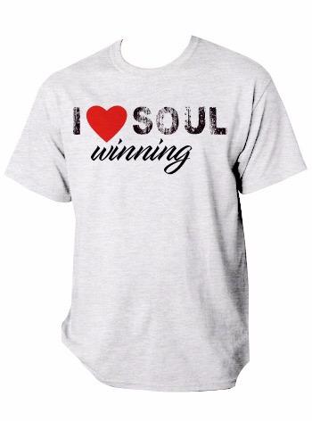 I ♥ Soul Winning T-Shirt - White
