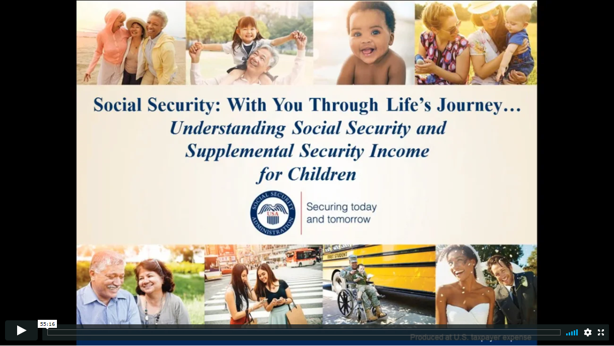 Supplemental Security Income (SSI) Eligibility for Children with Disabilities (Under age 18)