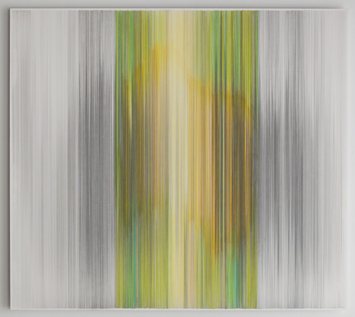 Anne Lindberg, parallel 28 green (2011)
