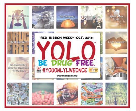 Red Ribbon Week, Oct. 23-31