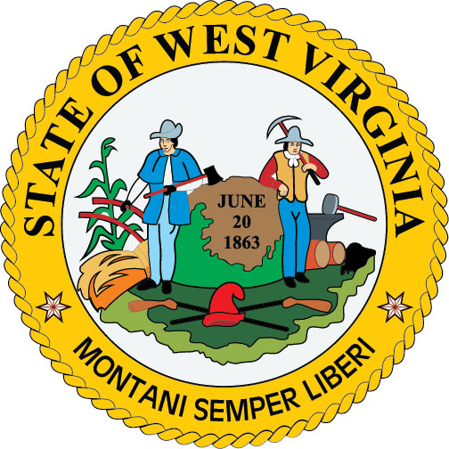 W32530 - Seal of the State of West Virginia Wall Plaque