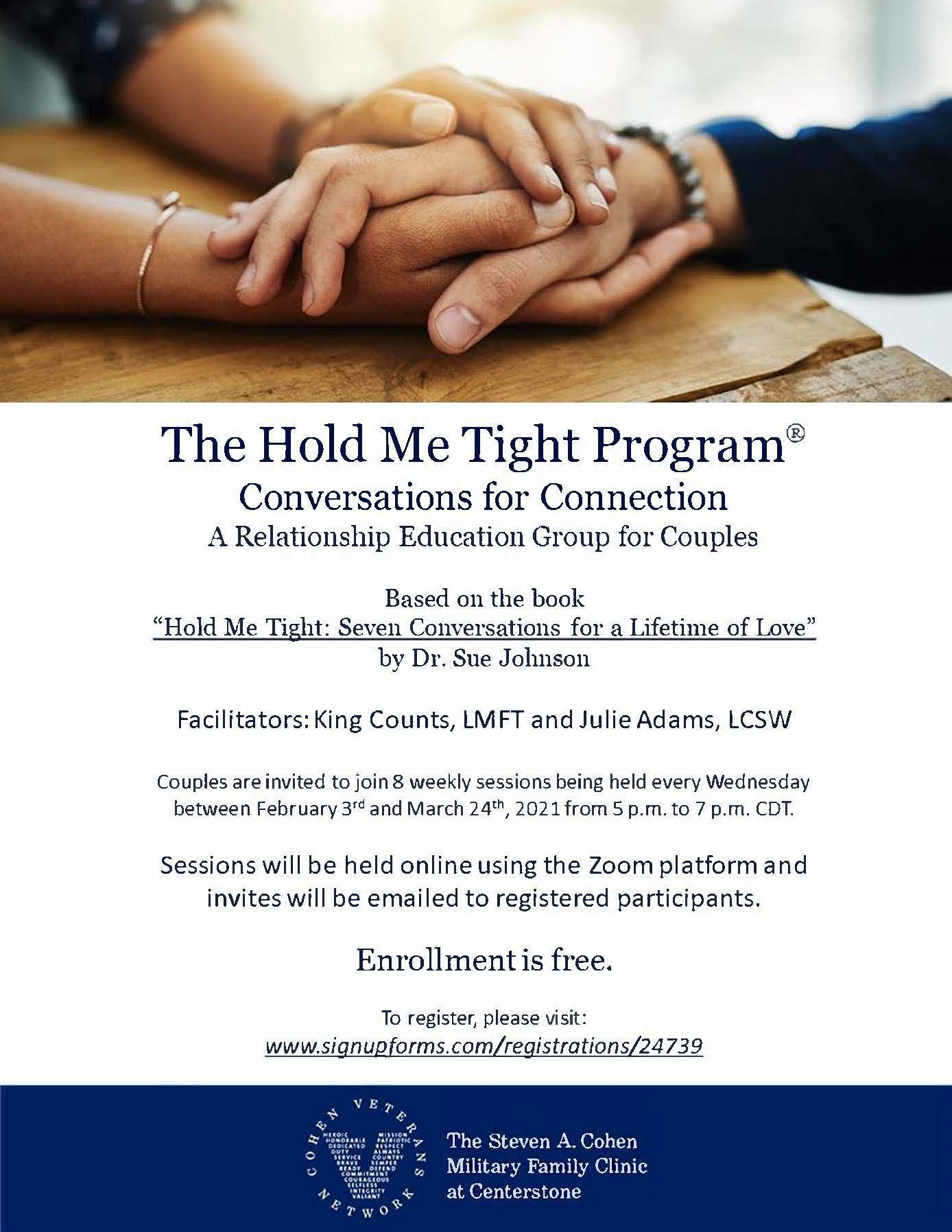 The Hold Me Tight Program