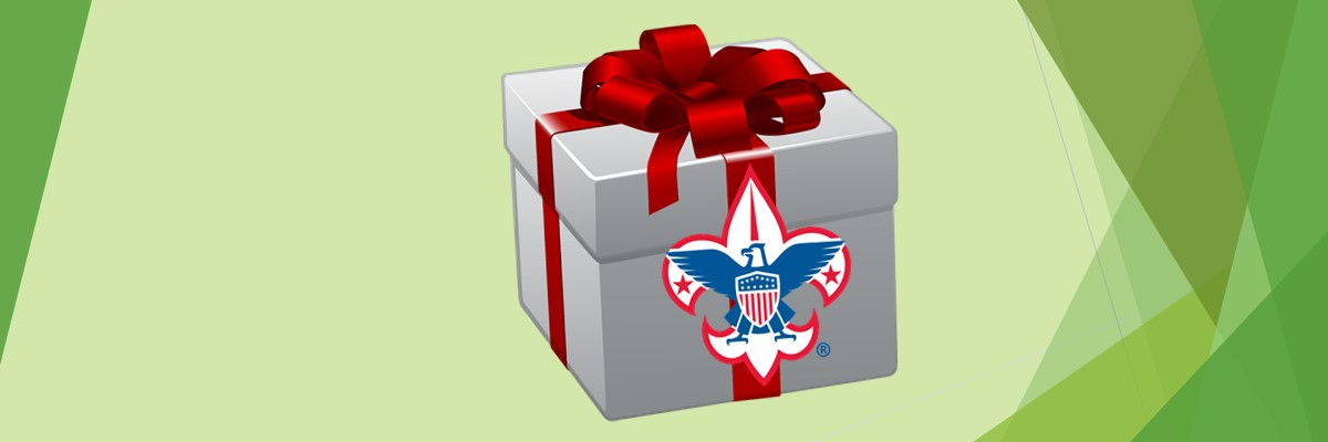 Give the gift of Scouting