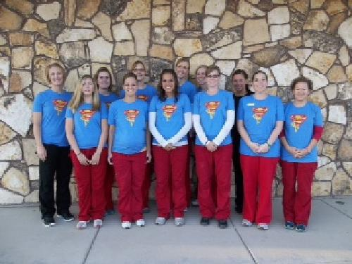Thanks Family First Dental! They wear their Sammy shirts every Thursday! Love them.