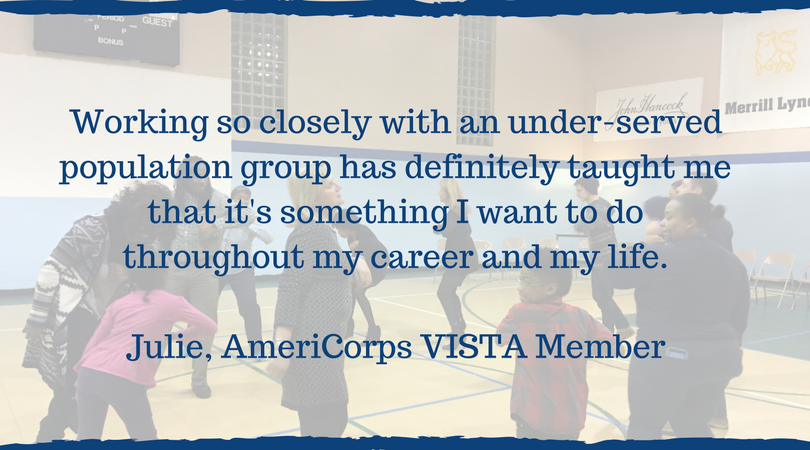 Julie - AmeriCorps VISTA Member