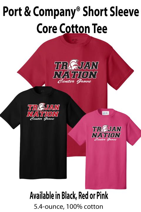 Trojan Nation - Short-sleeve Tee