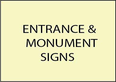 1. - E14001 - Entrance & Monument Signs