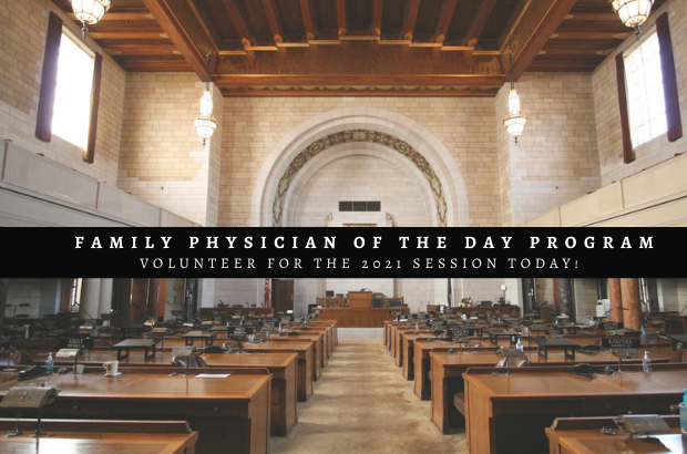 Family Physician of the Day Volunteers Needed!