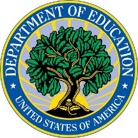 U30220 - Department of Education Seal Carved 3-D Wall Plaque
