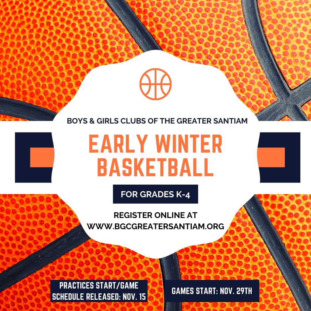 Early Winter Basketbal
