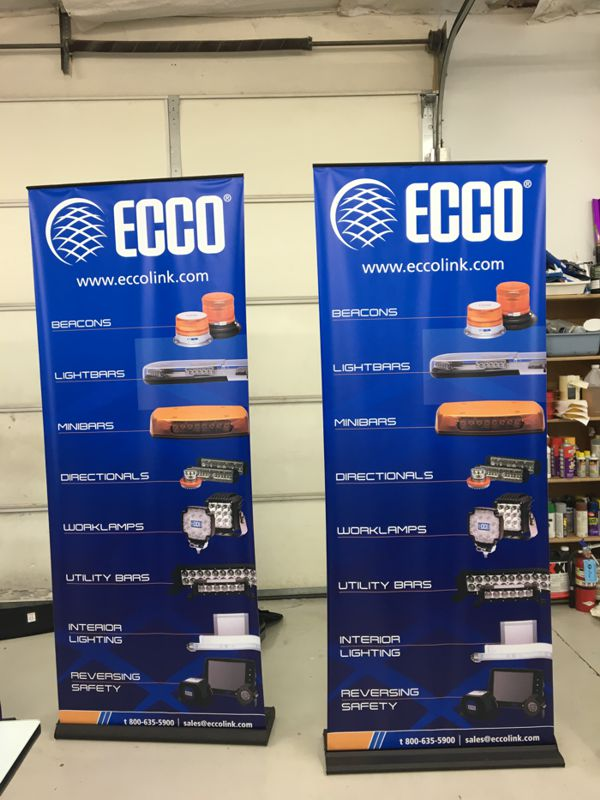 Retractable Trade Show Banners
