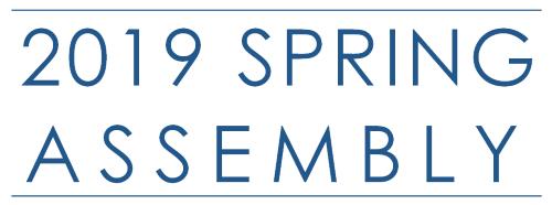 2019 Spring Assembly