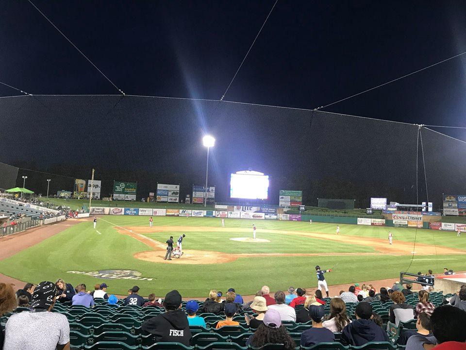 Blueclaws Baseball Game