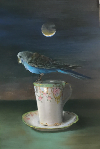 Third Place - A little bird told me