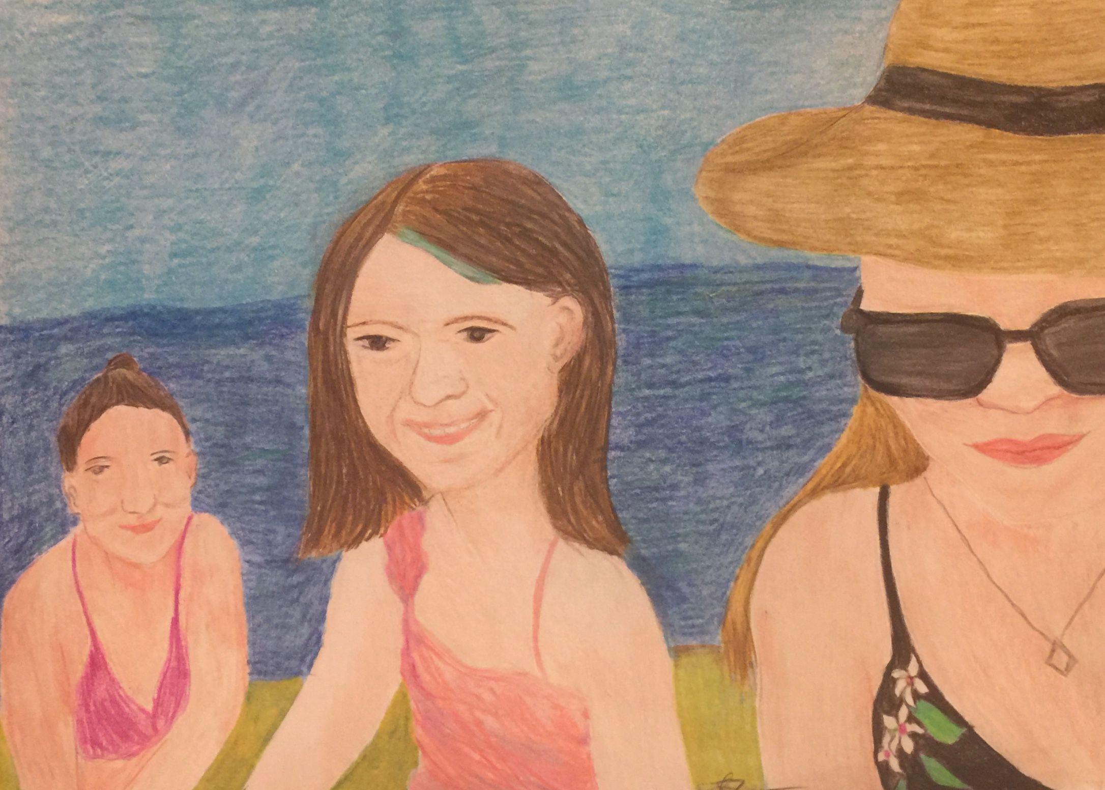 Artist: Laura Ricca, Pastel on Paper