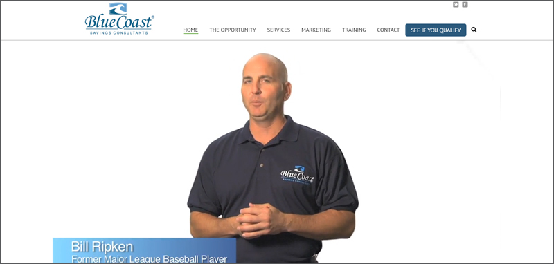 Bluecoast Savings: Web Development
