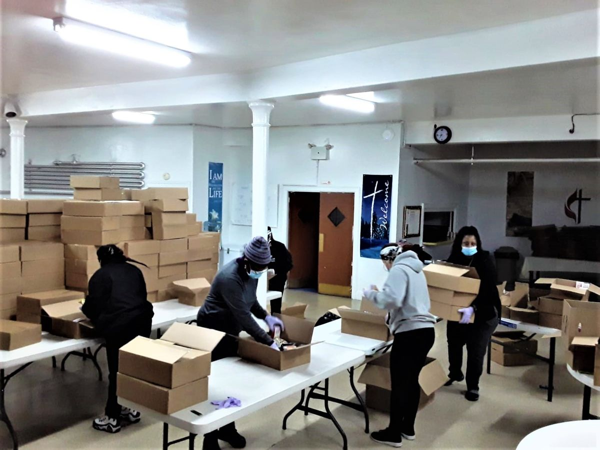 food pantry deliveries from NYC Get Food to St. Stephens